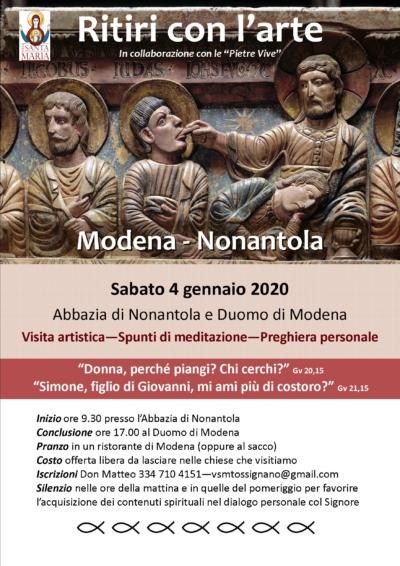 Ritiri con l'arte - Modena - Nonantola